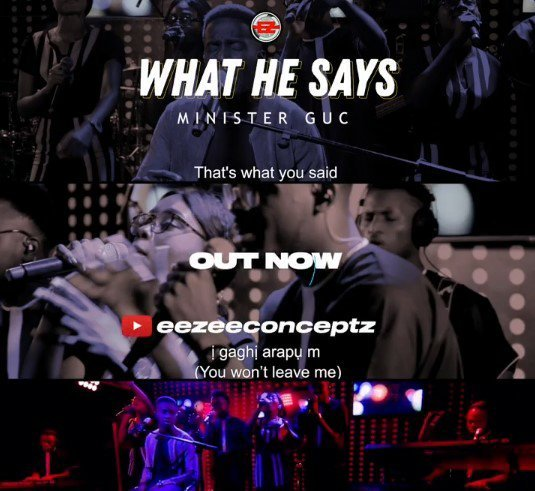 DOWNLOAD Music: Minister GUC – What He Says